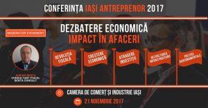 Dezbaterea economică: Impact în afaceri @ Camera de Comert si Industrie Iasi | Iasi | Romania